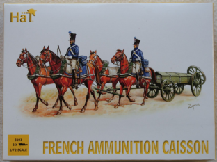 HaT 1/72 HAT8101 French Ammunition Caisson (Napoleonic)